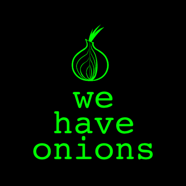 Sticker: We have onions