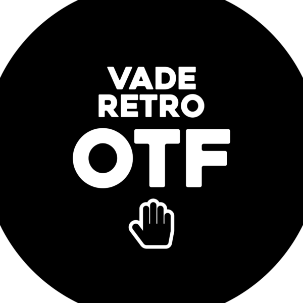 Sticker: Vade Retro OTF