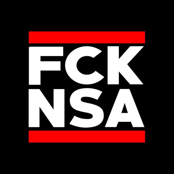 Sticker: FCK NSA