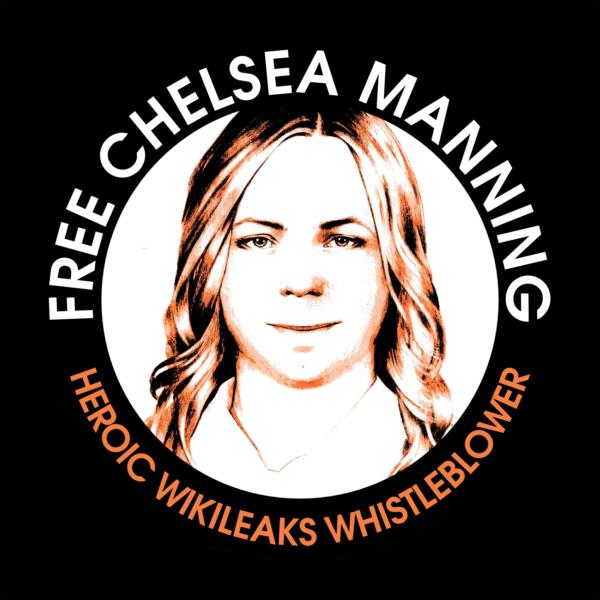 Sticker: Free Chelsea Manning