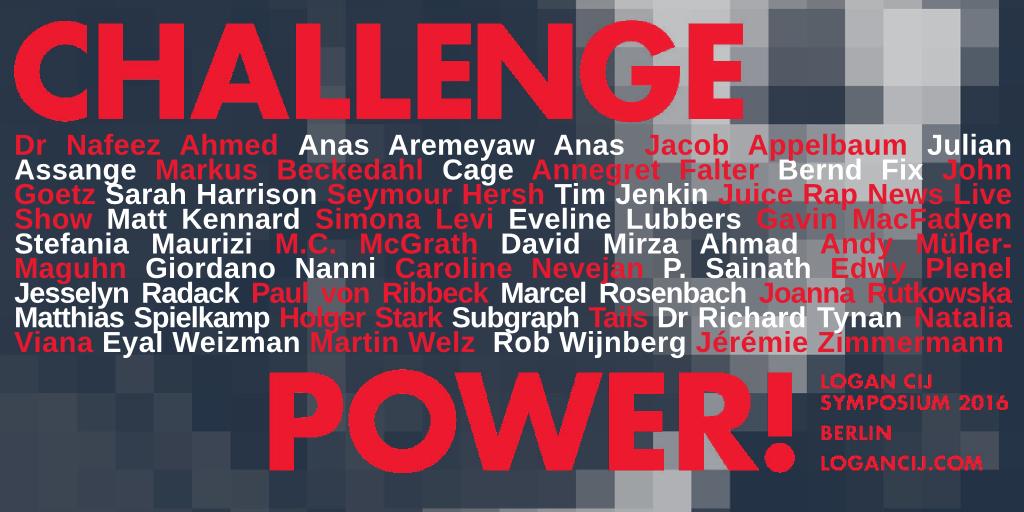 Challenge Power - The Logan CIJ Symposium