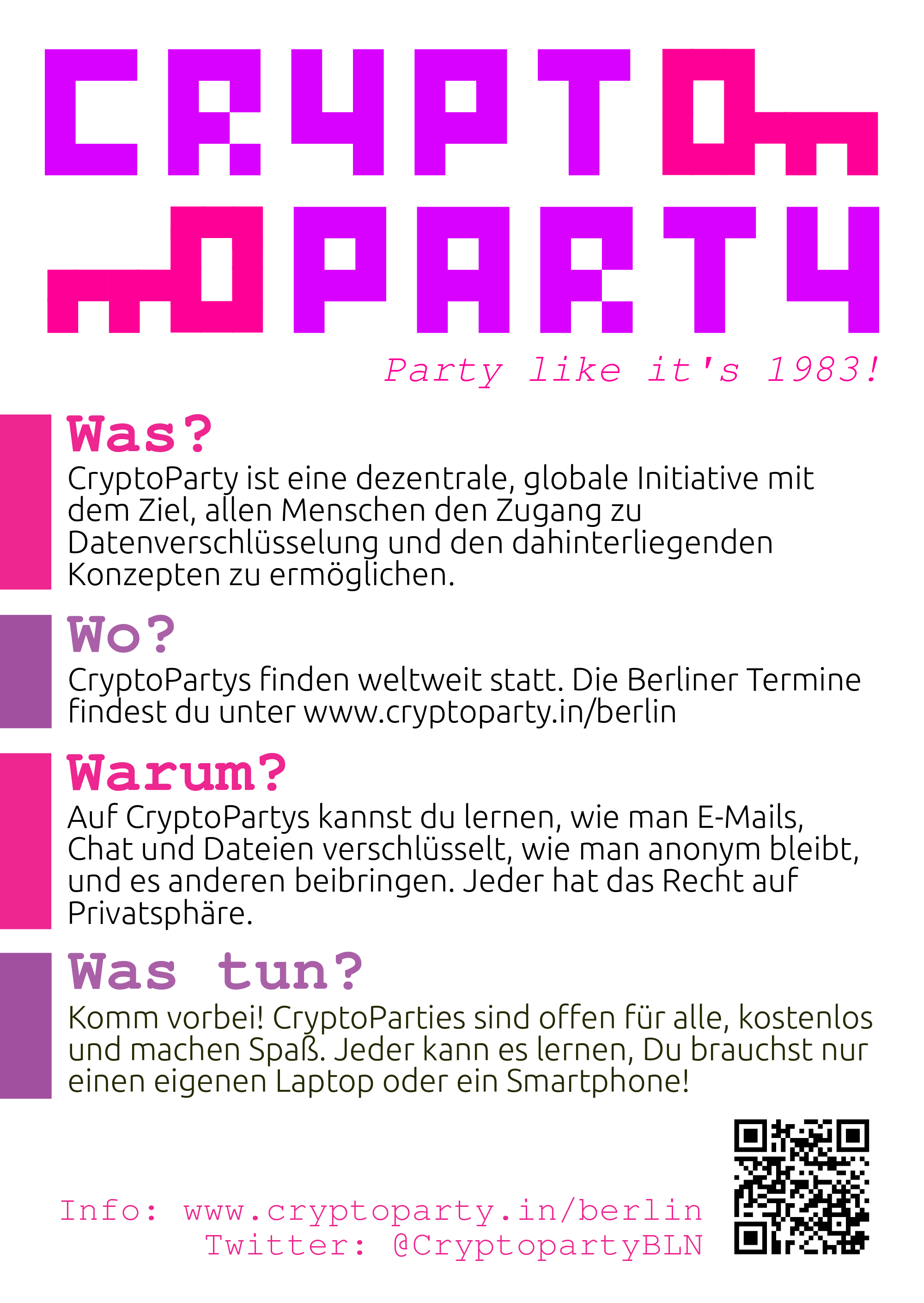 Party like it's 1983!