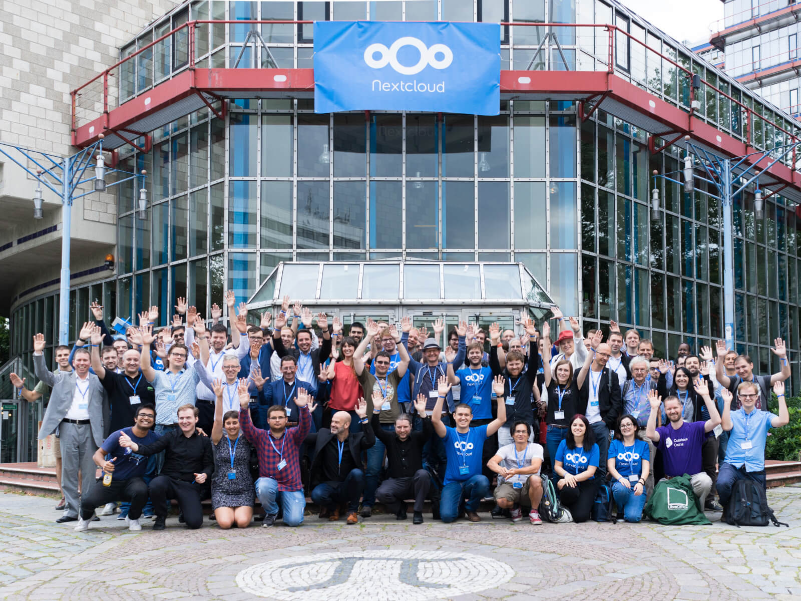 nextcloud conference 2019 group picture