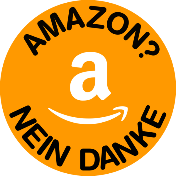 Sticker: Amazon? Nein Danke
