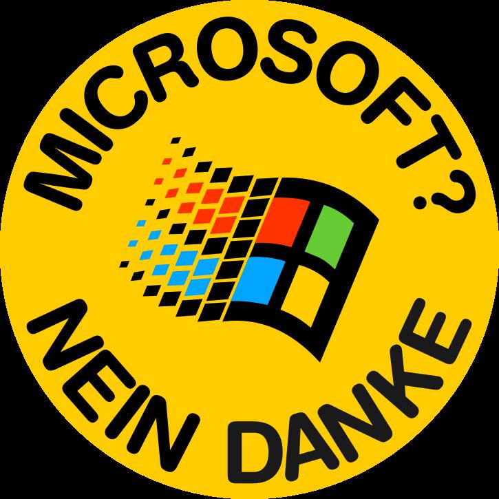 Microsoft? Nein Danke